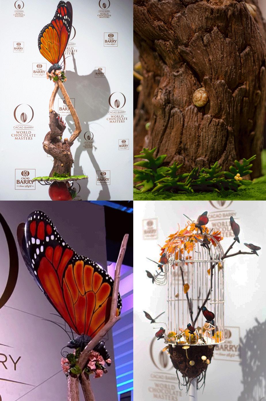 Skulpturer i chokolade