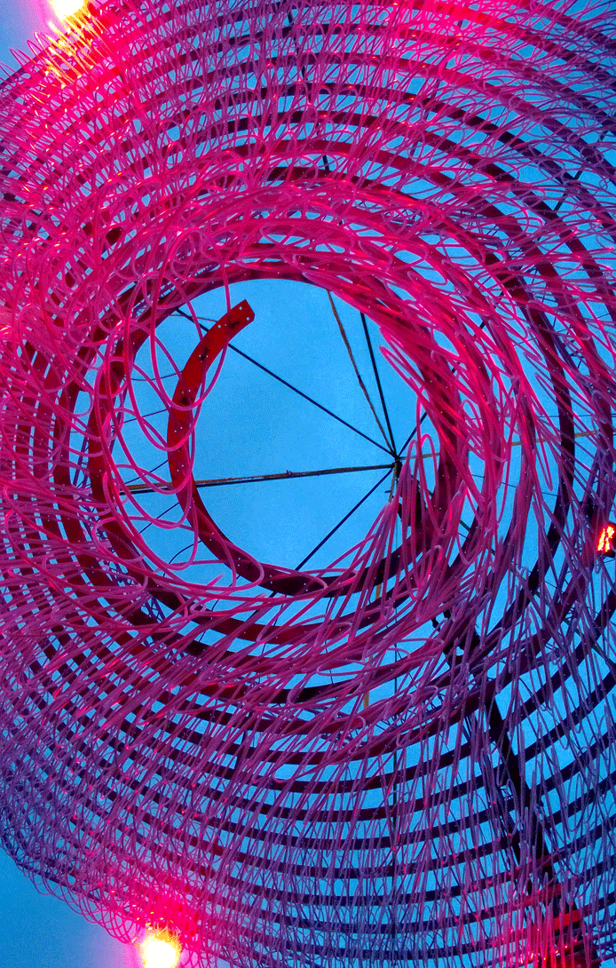 Hula hoop tornado at BUILD WHAT HERE Roskilde Festival 2013
